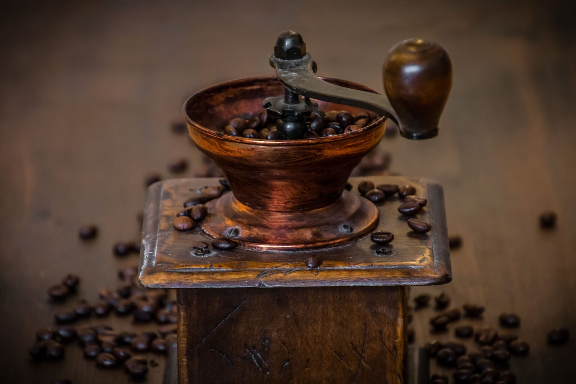研磨咖啡豆